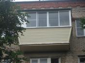 Фото наружной отделки балкона сайдингом под ключ в митино.