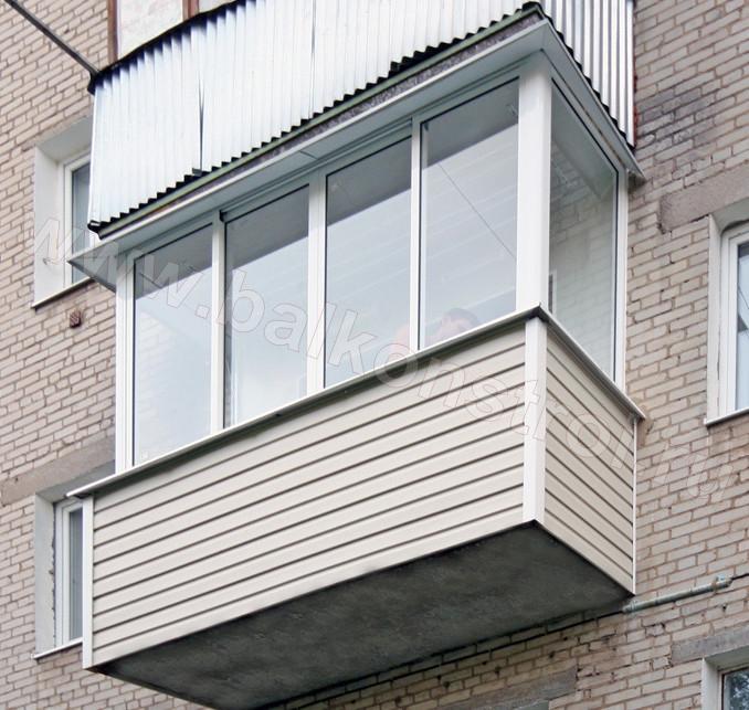 Остекление балкона в хрущевках, цены.