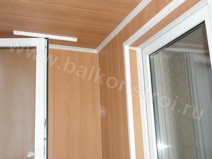 Как обшить балкон своими руками панелями мдф 706