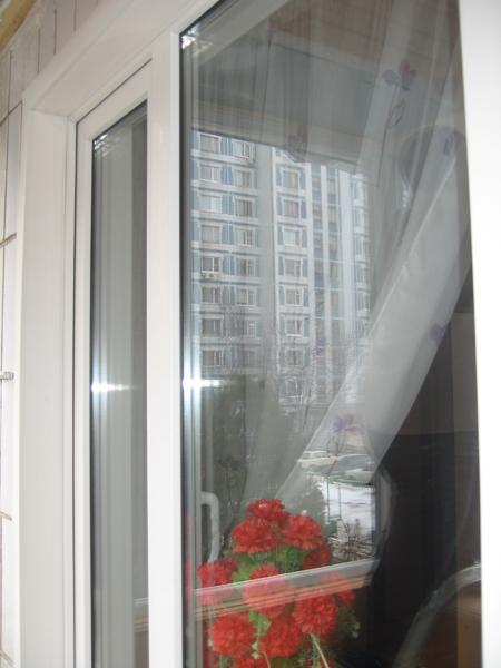 Фото остекление балкона пвх окнами.