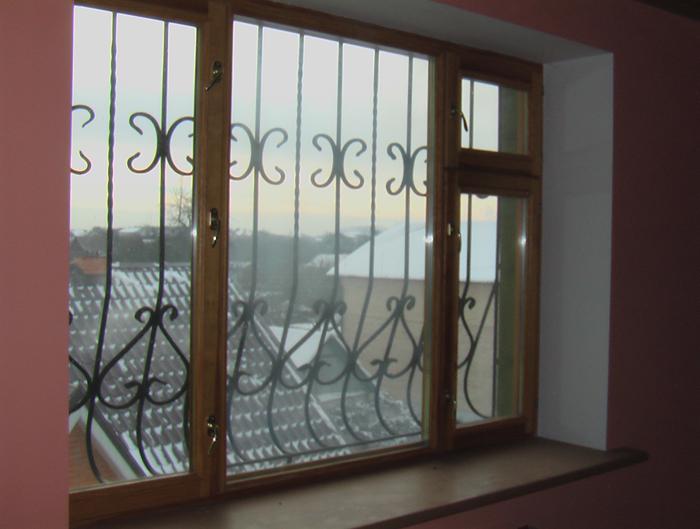остекление котеджа  окно из нутри