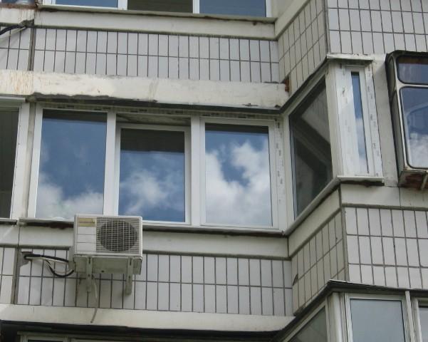 Остекление балконов по типу домов..