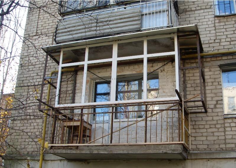 Установка балкона своими руками 86