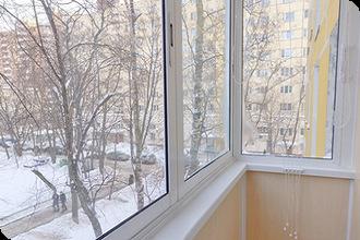 Остекление балкона алюминиевыми рамами