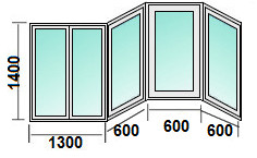 Остекление балкона п 3м, цены.