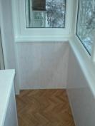 Внутренняя отделка балконов и лоджий фото.