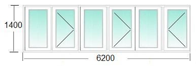балконная рама И 700а