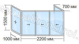 схема балкона п3 маленкий