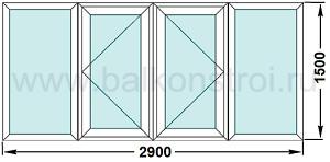 Отделка и остекление балконов, лоджий в домаж серии ii-57.